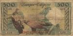 500 Alžyro frankų.