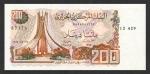 200 Alžyro dinarų.