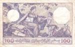 100 Alžyro frankų.