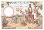 1000 Alžyro frankų.
