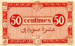 50 Alžyro sentimų.
