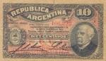 10 Argentinos sentavų.