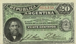 20 Argentinos sentavų.