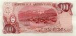 100 Argentinos pesų.