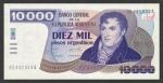 10000 Argentinos pesų.