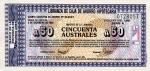 50 Argentinos australų.