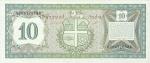 10 Arubos guldenų.