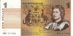 1 Australijos doleris.