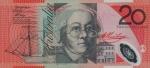 20 Australijos dolerių.