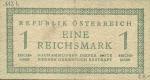 1 Austrijos reichsmarkė.