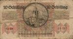 10 Austrijos šilingų.