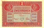2 Austrijos koronos.