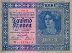 1000 Austrijos kronų.