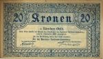 20 Austrijos kronų.
