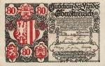 80 Austrijos helerių.