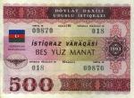 500 Azerbaidžano manatų.