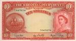 10 Bahamų šilingų.
