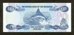 100 Bahamų dolerių.