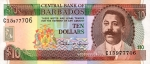10 Barbadoso dolerių.