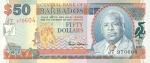 50 Barbadoso dolerių.