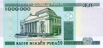 1000000 Baltarusijos rublių.
