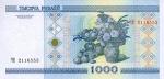1000 Baltarusijos rublių.