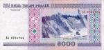 5000 Baltarusijos rublių.