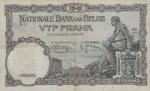 5 Belgijos frankai.
