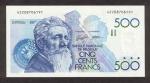 500 Belgijos frankų.