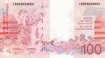 100 Belgijos frankų.
