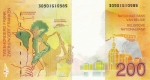 200 Belgijos frankų.