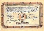 2 Belgijos frankai.