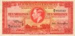 10 Bermudos šilingų.