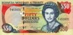 50 Bermudos dolerių.