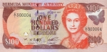 100 Bermudos dolerių.