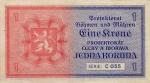 1 Bohemijos ir Moravijos koruna.