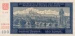100 Bohemijos ir Moravijos korunų.