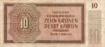 10 Bohemijos ir Moravijos korunų.