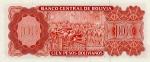 100 Bolivijos pesų.