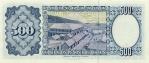 500 Bolivijos pesų bolivianų.