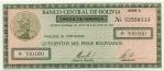 50 Bolivijos sentavų.