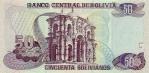 50 Bolivijos bolivianų.