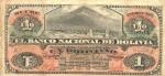 1 Bolivijos bolivianas.