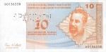 10 Bosnijos ir Hercegovinos konvertuojamų markių.