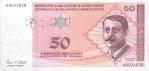 50 Bosnijos ir Hercegovinos konvertuojamų markių.