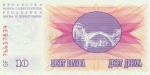 10000 Bosnijos ir Hercegovinos dinarų.