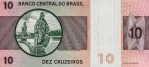 10 Brazilijos kruzeirų.