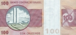 100 Brazilijos kruzeirų.