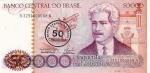 50000 Brazilijos kruzeirų.