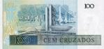 100 Brazilijos kruzadų.